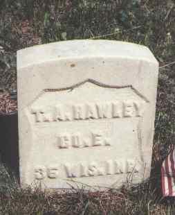 HAWLEY, T. A. - Lake County, Colorado | T. A. HAWLEY - Colorado Gravestone Photos