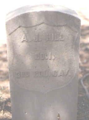 HILL, A. J. - Lake County, Colorado | A. J. HILL - Colorado Gravestone Photos