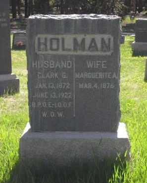 HOLMAN, CLARK G. - Lake County, Colorado | CLARK G. HOLMAN - Colorado Gravestone Photos
