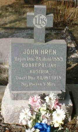 HREN, JOHN - Lake County, Colorado | JOHN HREN - Colorado Gravestone Photos