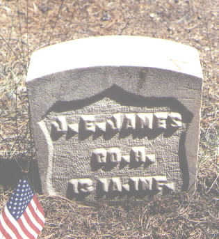 JAMES, J. E. - Lake County, Colorado | J. E. JAMES - Colorado Gravestone Photos