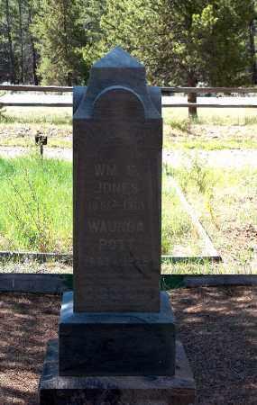 WAUNDA, POTTS - Lake County, Colorado | POTTS WAUNDA - Colorado Gravestone Photos