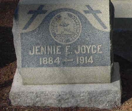 JOYCE, JENNIE E - Lake County, Colorado   JENNIE E JOYCE - Colorado Gravestone Photos