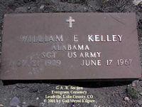 KELLEY, WILLIAM E. - Lake County, Colorado | WILLIAM E. KELLEY - Colorado Gravestone Photos