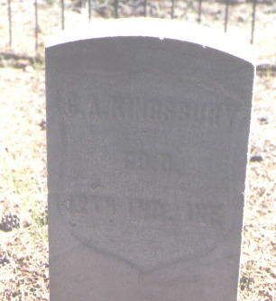 KINGSBURY, C. A. - Lake County, Colorado   C. A. KINGSBURY - Colorado Gravestone Photos