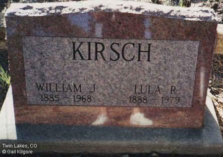 KIRSCH, LULA R. - Lake County, Colorado | LULA R. KIRSCH - Colorado Gravestone Photos