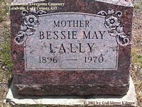 LALLY, BESSIE MAY - Lake County, Colorado | BESSIE MAY LALLY - Colorado Gravestone Photos