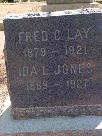 LAY, IDA - Lake County, Colorado | IDA LAY - Colorado Gravestone Photos