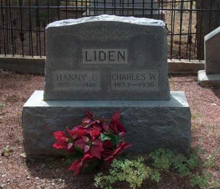LIDEN, CHARLES W. - Lake County, Colorado | CHARLES W. LIDEN - Colorado Gravestone Photos