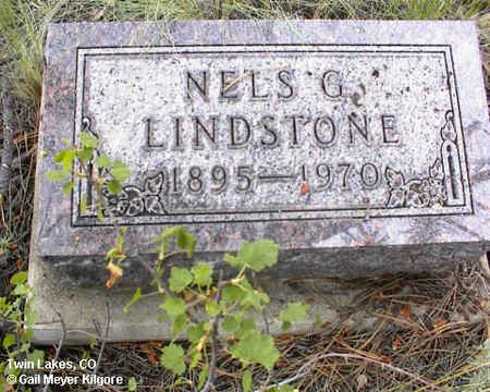 LINDSTONE, NELS G. - Lake County, Colorado | NELS G. LINDSTONE - Colorado Gravestone Photos