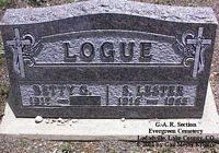 LOGUE, SHERMAN LESTER - Lake County, Colorado | SHERMAN LESTER LOGUE - Colorado Gravestone Photos