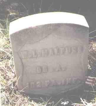 MALPUSS, W. L. - Lake County, Colorado | W. L. MALPUSS - Colorado Gravestone Photos
