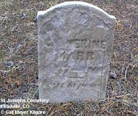 MARR, CATHERINE - Lake County, Colorado | CATHERINE MARR - Colorado Gravestone Photos