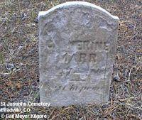 MARR, CATHERINE - Lake County, Colorado   CATHERINE MARR - Colorado Gravestone Photos