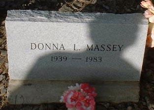 MASSEY, DONNA L. - Lake County, Colorado | DONNA L. MASSEY - Colorado Gravestone Photos