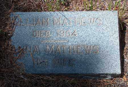 MATHEWS, ANNA - Lake County, Colorado | ANNA MATHEWS - Colorado Gravestone Photos