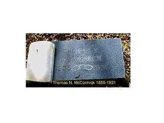MCCORMICK, THOMAS N. - Lake County, Colorado | THOMAS N. MCCORMICK - Colorado Gravestone Photos