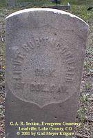 MCDONALD, ROBERT - Lake County, Colorado   ROBERT MCDONALD - Colorado Gravestone Photos