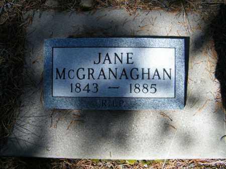 MCGRANAGHAN, JANE - Lake County, Colorado | JANE MCGRANAGHAN - Colorado Gravestone Photos