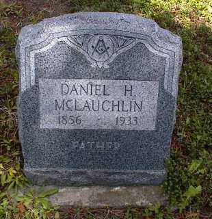 MCLAUGHLIN, DANIEL H. - Lake County, Colorado   DANIEL H. MCLAUGHLIN - Colorado Gravestone Photos
