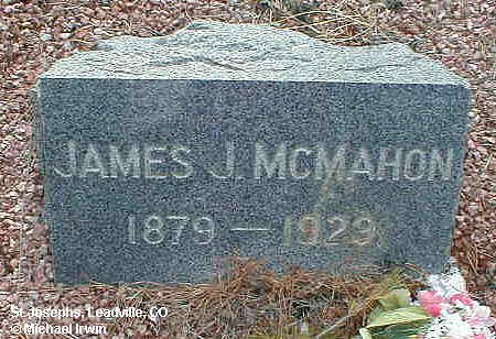 MCMAHON, JAMES J. - Lake County, Colorado | JAMES J. MCMAHON - Colorado Gravestone Photos
