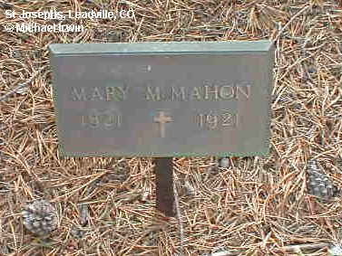MCMAHON, MARY M. - Lake County, Colorado   MARY M. MCMAHON - Colorado Gravestone Photos