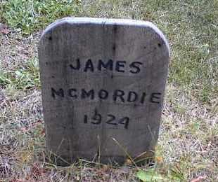MCMORDIE, JAMES - Lake County, Colorado | JAMES MCMORDIE - Colorado Gravestone Photos