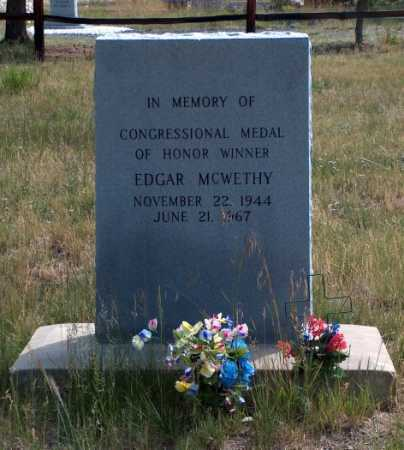 MCWETHY, EDGAR - Lake County, Colorado | EDGAR MCWETHY - Colorado Gravestone Photos