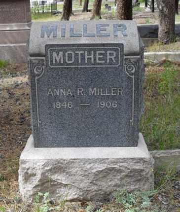 MILLER, ANNA R. - Lake County, Colorado | ANNA R. MILLER - Colorado Gravestone Photos