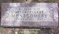 REGEHR MONTGOMERY, HELEN - Lake County, Colorado | HELEN REGEHR MONTGOMERY - Colorado Gravestone Photos