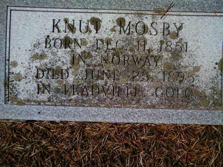 MOSBY, KNUT - Lake County, Colorado | KNUT MOSBY - Colorado Gravestone Photos