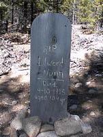 NUNN, EDWARD - Lake County, Colorado | EDWARD NUNN - Colorado Gravestone Photos