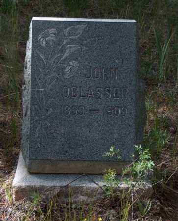 OBLASSER, JOHN - Lake County, Colorado | JOHN OBLASSER - Colorado Gravestone Photos