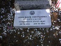 OMOHUNDRDO, JOHN BAKER - Lake County, Colorado | JOHN BAKER OMOHUNDRDO - Colorado Gravestone Photos