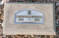 O'NEAL, ANNETTA - Lake County, Colorado | ANNETTA O'NEAL - Colorado Gravestone Photos