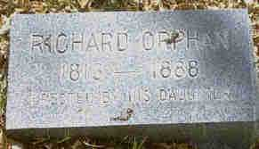 ORPHAN, RICHARD - Lake County, Colorado | RICHARD ORPHAN - Colorado Gravestone Photos