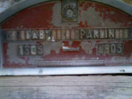 PARLIN, BABY - Lake County, Colorado   BABY PARLIN - Colorado Gravestone Photos