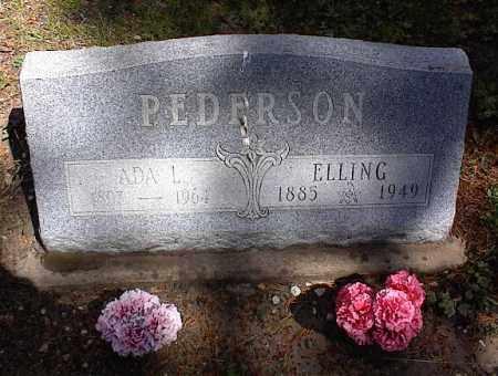 PEDERSON, ADA L. - Lake County, Colorado | ADA L. PEDERSON - Colorado Gravestone Photos