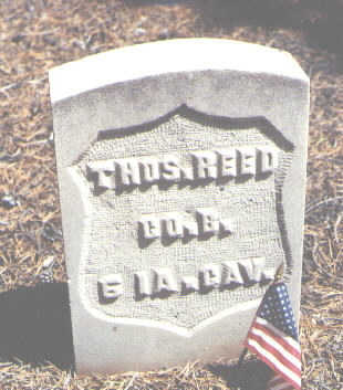 REED, THOS. - Lake County, Colorado | THOS. REED - Colorado Gravestone Photos