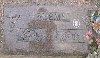 REEMS, DORTHY - Lake County, Colorado | DORTHY REEMS - Colorado Gravestone Photos
