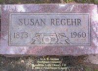 REGEHR, SUSAN - Lake County, Colorado | SUSAN REGEHR - Colorado Gravestone Photos
