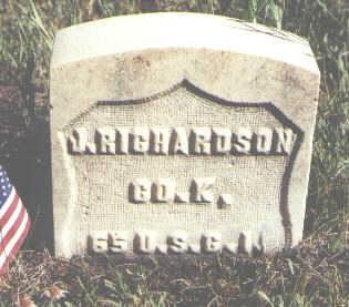 RICHARDSON, J. - Lake County, Colorado   J. RICHARDSON - Colorado Gravestone Photos