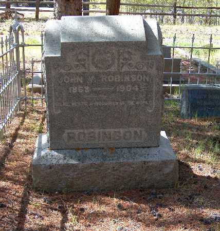 ROBINSON, JOHN V. - Lake County, Colorado | JOHN V. ROBINSON - Colorado Gravestone Photos