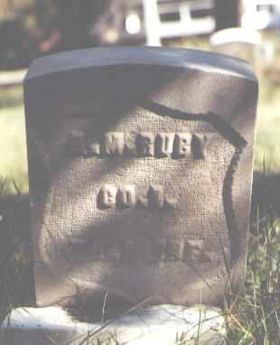 RUBY, A. M. - Lake County, Colorado | A. M. RUBY - Colorado Gravestone Photos