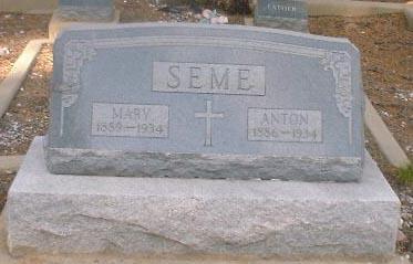 SEME, ANTON - Lake County, Colorado | ANTON SEME - Colorado Gravestone Photos
