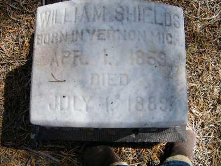 SHIELDS, WILLIAM - Lake County, Colorado | WILLIAM SHIELDS - Colorado Gravestone Photos