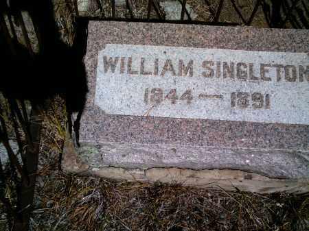 SINGLETON, WILLIAM - Lake County, Colorado   WILLIAM SINGLETON - Colorado Gravestone Photos