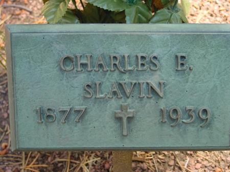 SLAVIN, CHARLES E - Lake County, Colorado | CHARLES E SLAVIN - Colorado Gravestone Photos
