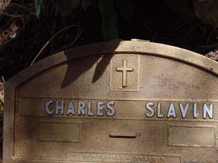 SLAVIN, CHARLES - Lake County, Colorado   CHARLES SLAVIN - Colorado Gravestone Photos