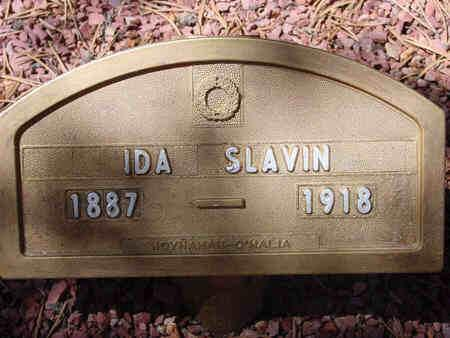 SLAVIN, IDA - Lake County, Colorado | IDA SLAVIN - Colorado Gravestone Photos